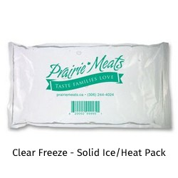 Clear Freeze - Solid Ice/Heat Pack
